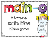 Main-O!- A Main Idea and Details BINGO Game!