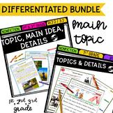 Main Idea Differentiated Bundle - Google Distance Learning