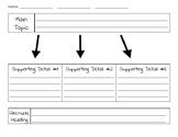 Main Topic Graphic Organizer