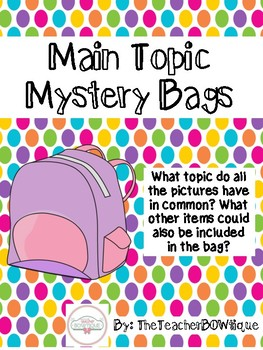 Main Topic Mystery Bags