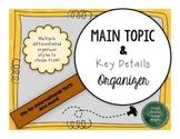 Main Topic and Key Detail Organizer