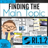 Main Topic and Key Details 1st Grade RI.1.2 with Digital Learning Links - RI1.2