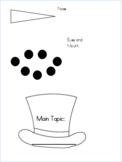 Main Topic Snowman Editable