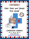 Main Topic and Details - First Grade