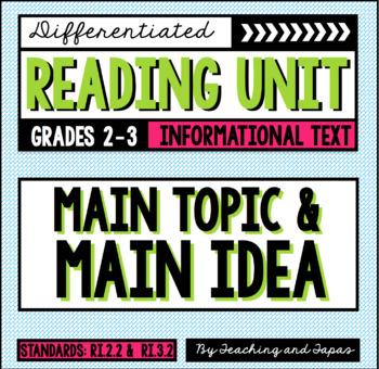 Main Topic and Idea (RI.2.2 and RI.3.2)
