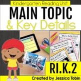 Main Topic of a Nonfiction Text Kindergarten RI.K.2 with Digital Learning Links