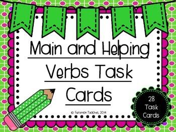 Main and Helping Verbs