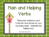Main and Helping Verbs #2