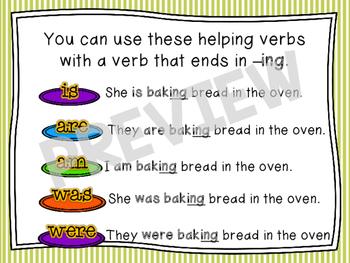 Main and Helping Verbs Presentation