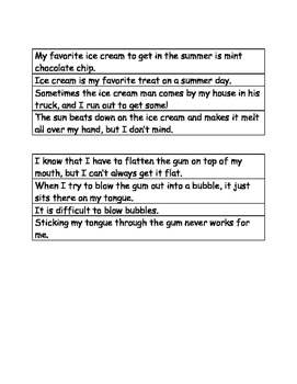Main idea/Jumbled Paragraph