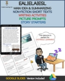 Main idea & Summarizing: Reading Passages with Writing Act