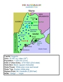 Maine Activity Packet