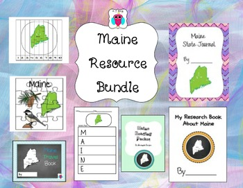 Maine Bundle- 8 Resources