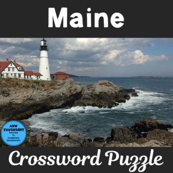 Maine Crossword Puzzle