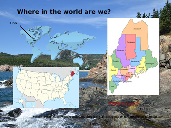Maine History PowerPoint - Part I
