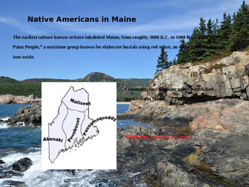 Maine History PowerPoint - Part II