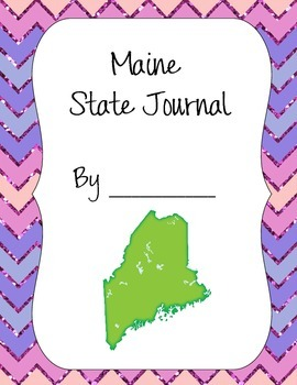 Maine Journal Set