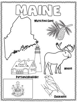 Maine Word Search