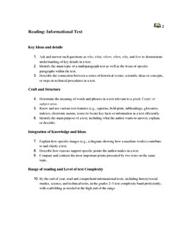 Maine Second Grade Standards