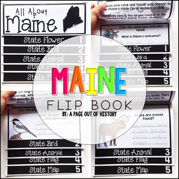 Maine State Flipbook