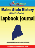 Maine State History Lapbook Journal