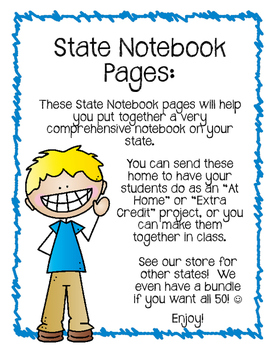 Maine State Notebook. US History and Geography