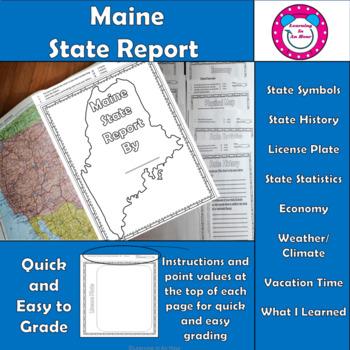 Maine State Report