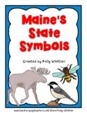 Maine State Symbol Cards