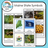Maine State Symbols Cards