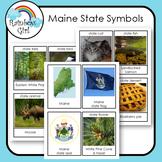Maine State Symbols Cards