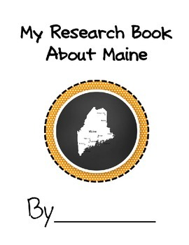 Maine Student Study Research Book