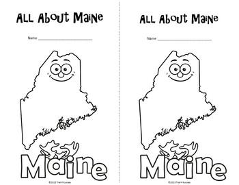Maine Webquest Common Core Research Mini Book