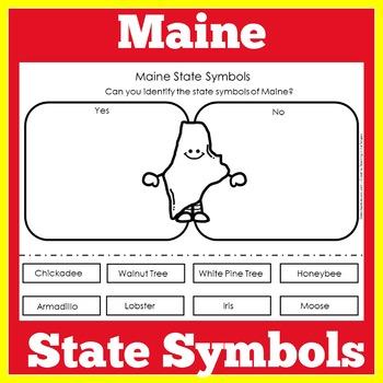 Maine the State Symbols