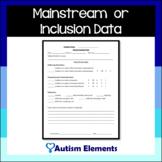 Mainstreaming Data