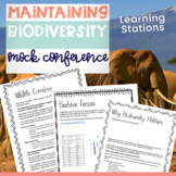 Biodiversity Activity. A Mock Conference. Ecosystem Challenges.