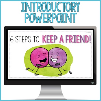 Friendship Activity: Keeping Friends Classroom Guidance Lesson for Counseling