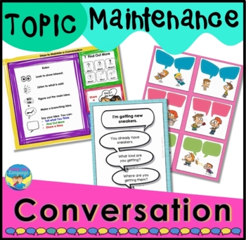 Conversation Topic Maintenance Game-Pragmatics/Social Skil
