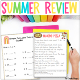 Summer Review Packet - Activities to Avoid the Summer Slide 1st to 2nd