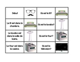 "Maison Race Cards - ""J'ai, qui a"" FRENCH/ FSL Oral communication"