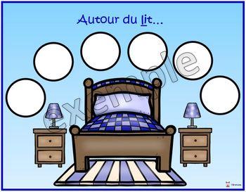 Maison: autour du lit...