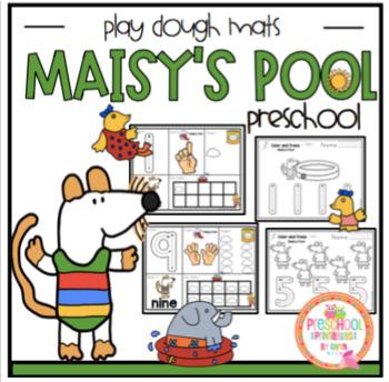 Maisy's Pool Play Dough Mats 1-10