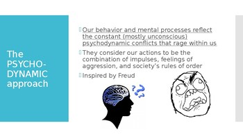Psychodynamic approach (strengths and weaknesses).
