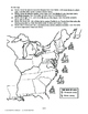 Major Battles/War of 1812, AMERICAN HISTORY LES. 60 of 150 Fun Map Exercise+Quiz