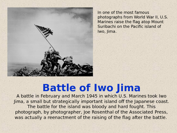 Major Battles of World War II Power Point