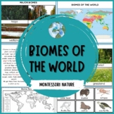 Major Biomes of the World | Nature Curriculum in Cards | Montessori