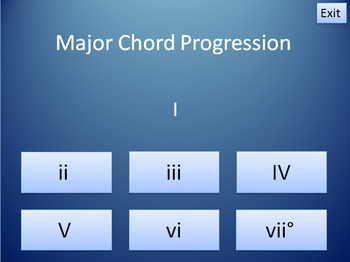 Major Chord Progressions - An Interactive Music Theory Activity