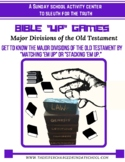 """Major Divisions of the Old Testament (""""THE 7-UP GAMES"""")"""