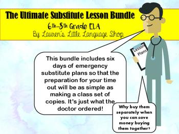 Major Emergency Lesson Plan Bundle