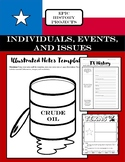 Texas History: Major Events 19th-21st centuries - Illustrated Notes