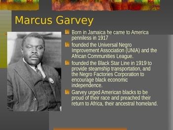 Major Figures of the Harlem Renaissance
